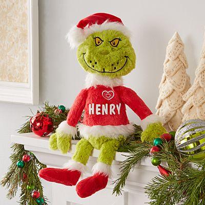 Dr. Seuss™ The Grinch Santa Plush