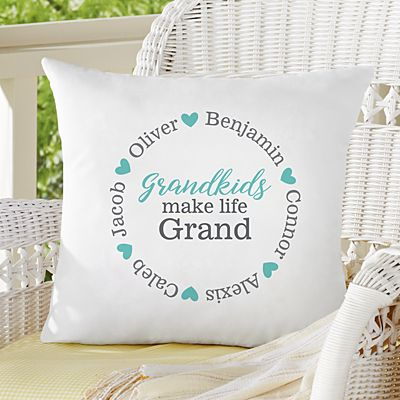 Love All Around Throw Pillow