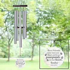 Pawprints in Heaven Wind Chime