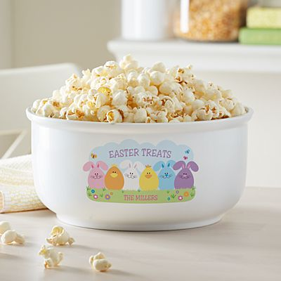 Spring Friends Popcorn Bowl