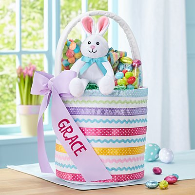 Ribbons & Bows Easter Basket