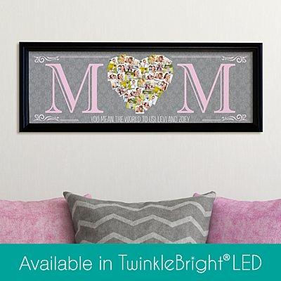 Mom's Heart Photo Canvas
