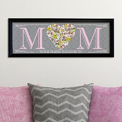 Mum's Heart Photo Canvas