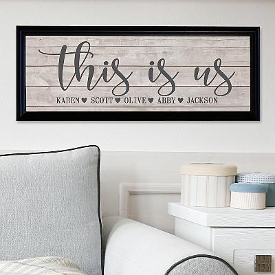 This Is Us Canvas