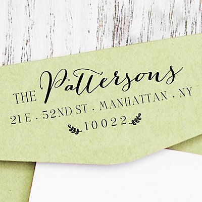 Naturally Whimsical Self-Inking Stamp