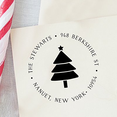 Oh Christmas Tree Self-Inking Stamp