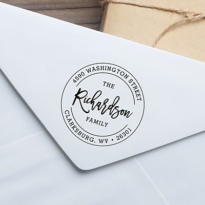 Signature Seal Self-Inking Stamp