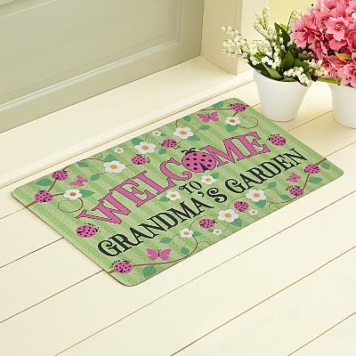 Lady Bug Garden Doormat