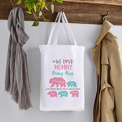 Love Her Beary Mug Tote Bag