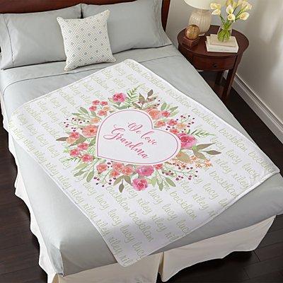 Abundant Heart Plush Blanket