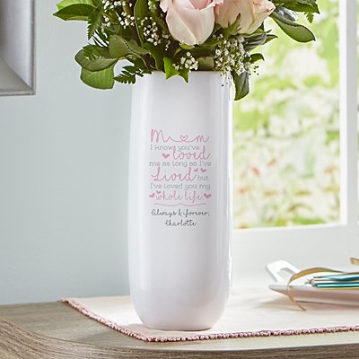 Loved You My Whole Life Vase