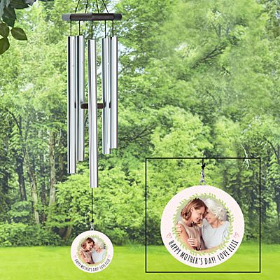 Photo Wreath Wind Chime