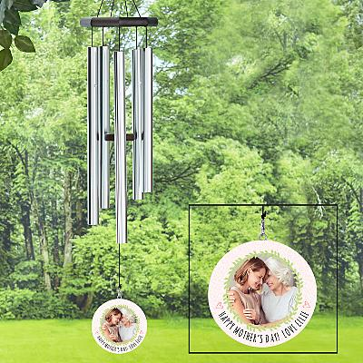 Photo Wreath Windchime