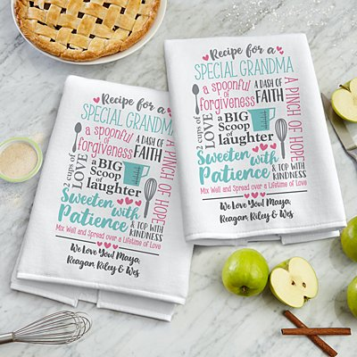 Recipe for a Special Someone Kitchen Towel