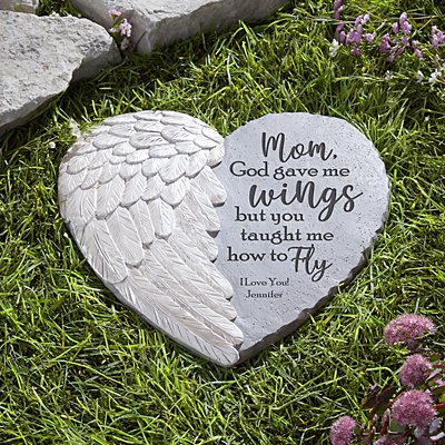 Taught Me to Fly Garden Stone