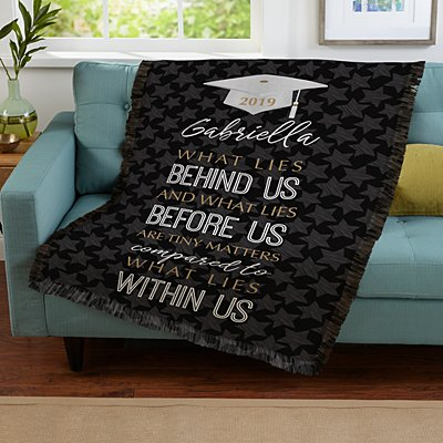What Lies Within Graduation Throw