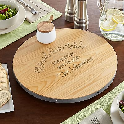 Around Our Table Lazy Susan