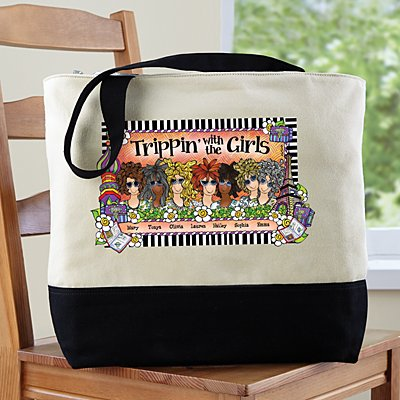 Trippin' with the Girls Tote by Suzy Toronto