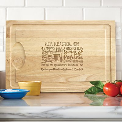 Recipe for a Special Someone Wood Cutting Board