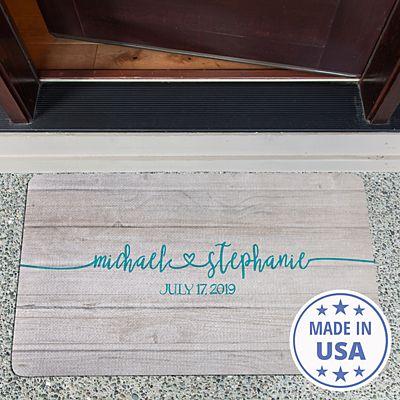 Always Together Wedding Doormat