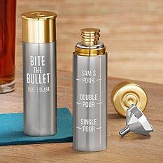 Bite The Bullet Flask