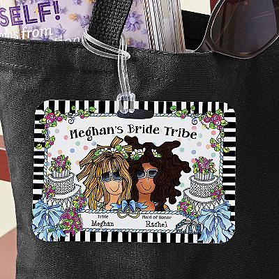 Bride Tribe Luggage Tag by Suzy Toronto