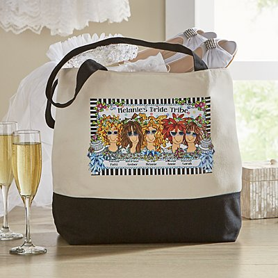 Bride Tribe Tote by Suzy Toronto