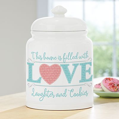 Baked with Love Cookie Jar