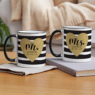 Just Married Mugs