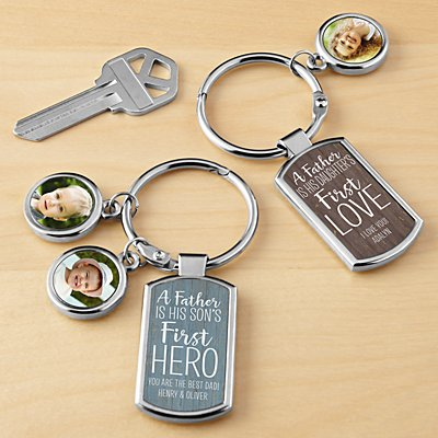 First Memories Photo Key Chain