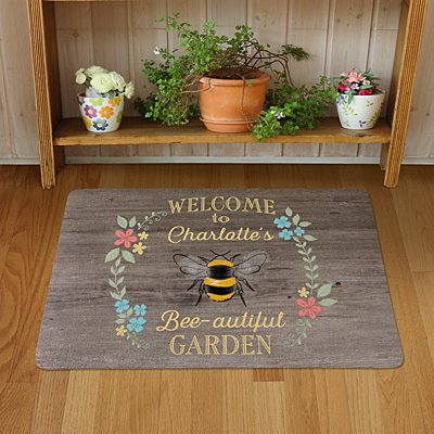 Bee-autiful Garden Doormat