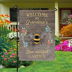 Bee-autiful Garden Flag
