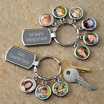 Photo Message Keyring