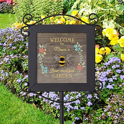 Bee-autiful Garden Stake
