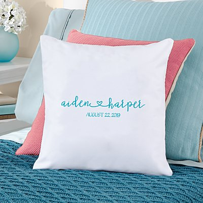 Always Together Wedding Throw Pillow