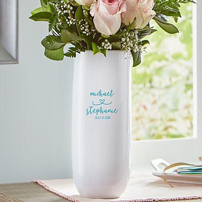 Always Together Wedding Vase
