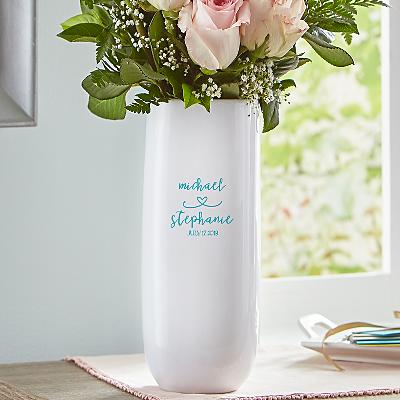 Always Together Wedding Vase
