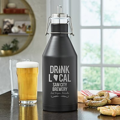 Drink Local Thermal Growler