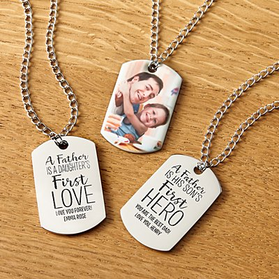 First Memories Photo Dog Tag