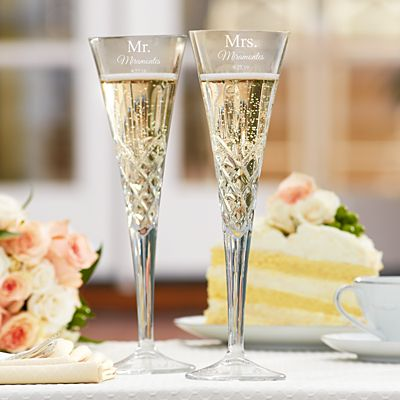 Galway European Crystal® Our Love  Flutes