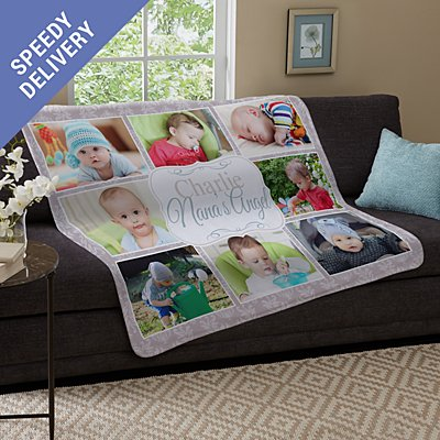 Kids are the Best Photo Plush Blanket