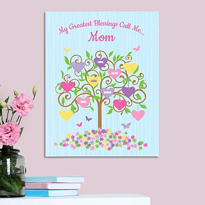 Branches Bloom with Love Canvas