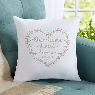 Our Home Sweet Home Throw Pillow