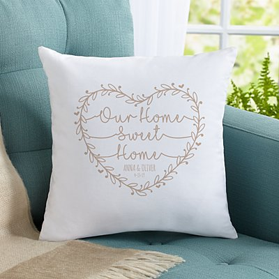 Our Home Sweet Home Sofa Cushion