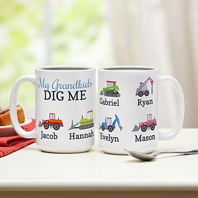 They Dig Me Mug