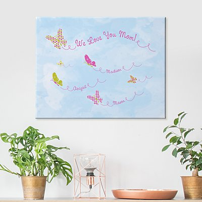 Butterfly Blessings Canvas