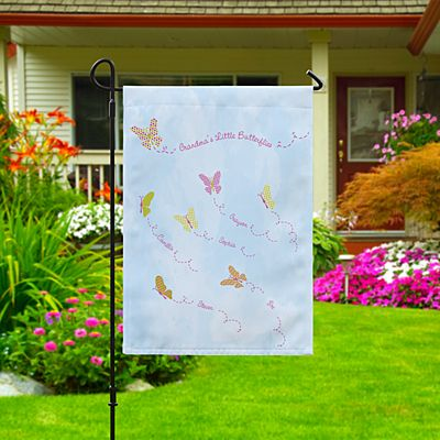 Butterfly Blessings Garden Flag