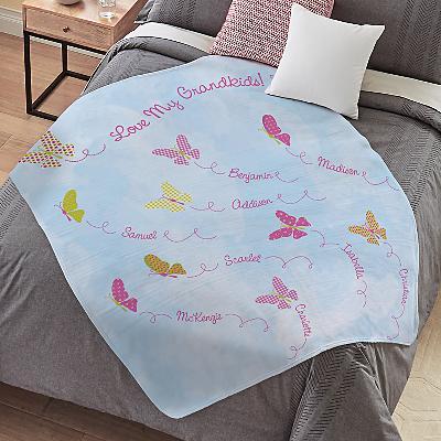 Butterfly Blessings Plush Blanket