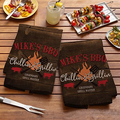 Chillin' & Grillin' Towel