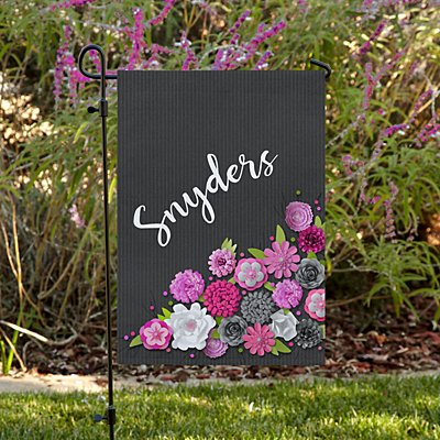 Floral Bouquet Family Garden Flag